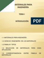 Tema 1 Ingenieria de Materiales