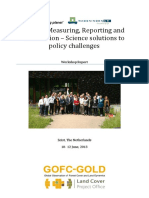 REDD MRV Science Solutions to Policy Challenges Workshop Report