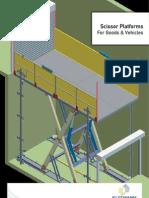 Scissor Platforms For Goods & Vehicles