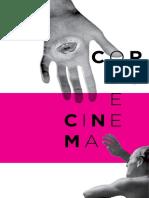 CATÁLOGO. Corpo e Cinema