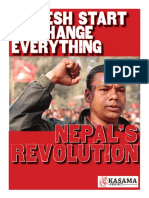 Kasama Nepal's Revolution.Published by the Kasama Project june 2013