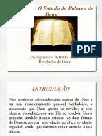 Bibliologia - Prolegômena