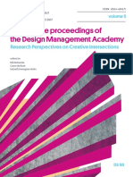 Conference Proceedings of the  Design Management Academy 2017 Volume 5