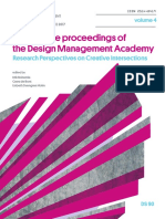 Conference Proceedings of the  Design Management Academy 2017 Volume 4