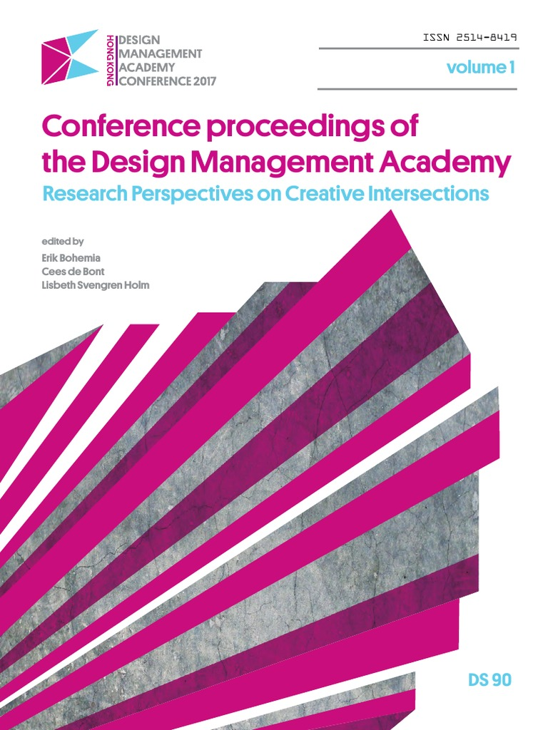 Conference Proceedings Of The Design Management Academy 2017 Volume Split Charge Switchc A Brooks 2005 1 Thinking Innovation