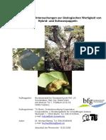 Vergleichende Untersuchungen zur ökologischen Wertigkeit von Hybrid- und Schwarzpappeln