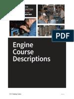 Training Center Engine Course Descriptions