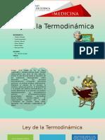 Ley de La Termodinámica