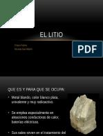 Presentacion Litio