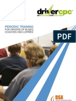 Driver CPC - Periodic Training Leaflet
