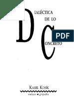 Dialectica de lo concreto