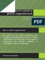 Sistemas Para El Control y Gestión Organizacional