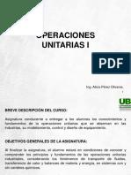 Operaciones Unitarias i Modulo i
