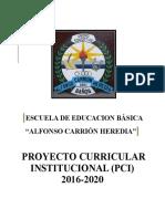 Pci 2016 - 2020