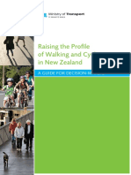 Raising the Profile Walking Cycling in Nz