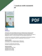 Herbal Swiss Lándzsás Útifű Kakukkfű Szirup 150ml