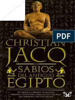 Christian Jacq_ Los sabios del antiguo Egipto