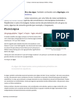 Ficologia_ o Estudo Das Algas (Algologia) _ Botânica - Biólogo