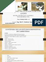 Estudios de carreteras - Vias terrestres I