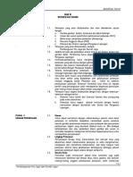 Spesifikasi Teknis Pos Jaga Dan Rumah Jaga