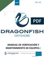 Df-man-mto-001 Manual de Verificación y Mantenimiento de Equipos