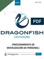 DF-PRT-OPE-001 Movilización de Personal Offshore