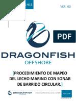 DF-PRT-OPE-011 Mapeo Del Lecho Marino Con Sonar de Barrido Circular.