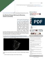 Cara Membuat Potongan Melintang Dan Memanjang Otomatis Land Desktop _ Jasasipil