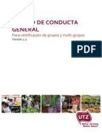 ES UTZ Code of Conduct Group v1.1 2015_Grupos y Multigrupos