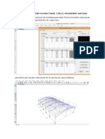 Proceso de Diseño Estructural Con El Programa Sap2000