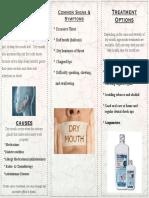 xerostomia brochure