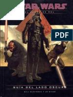 Star Wars - D20 - Guía Del Lado Oscuro