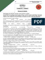 ejercicios de sistemas de unidades - conversiones . Química (universitario).