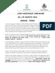 50° Raduno Campanari italiani