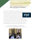 ¿Hacia Una «Primavera Latina»?, Por Thierry Meyssan