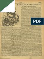 Guzmán, Martín Luis. Lafitte, 'El Pirata Del Golfo'