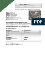 Petrografia 165 y 185