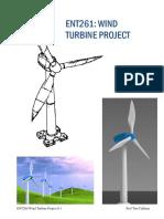 guía para dibujar una turbina de viento