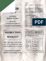 Control Remoto Universal Urc11c-12a Manual Pdf