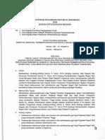 Se 19 Pb 2014 Tindak Lanjut Perubahan Bup Berdasarkan Uu Nomor 5 Tahun 2014 Tentang Asn