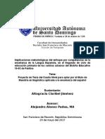 Implicaciones Del Enfoque Por Competencias en El Área de Lengua Española.2