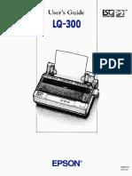 Lq-300 Users Guide
