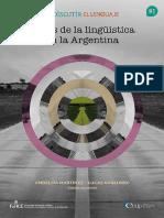 Rutas de La Lingüística en Argentina. 2012