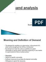 Swot Analysis of Demand
