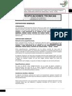 Especificaciones Tecnicas Comite 02 Campo Deportivo