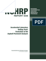 Accelerated Laboratory Rutting Tests