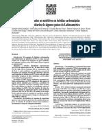 Consumo de Edulcorantes No Nutritivos en Bebidas Carbonatadas en Estudiantes Universitarios de Algunos Países de Latinoamérica