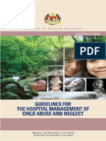 Guidelines for the Hospital Management of Child Abuse and Neglect