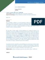 Medición El Único Camino a La Calidad Del Software2017