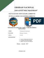 Informe Minera Santa Luisa Huanzala